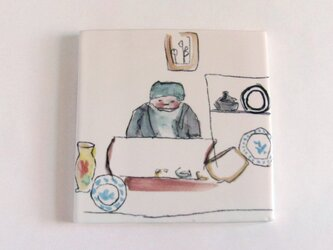 イギリス作家の手作りタイル 「バーモンジーアンティーク」の画像