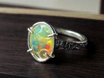 エチオピア オパール・リング * Ethiopian Opal Ring 0×の画像