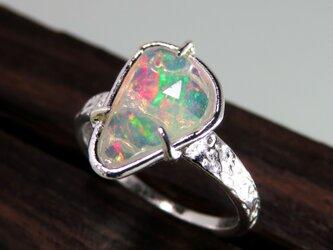 エチオピア オパール・リング * Ethiopian Opal Ring ▽lの画像