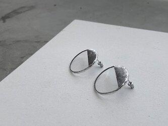 ハクガラス・サークルピアス//HAKU GLASS CIRCLE PIERCEの画像
