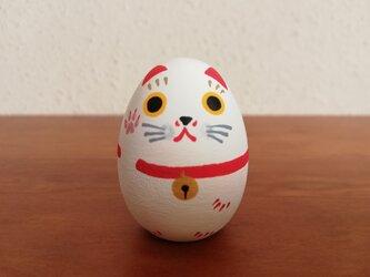 招き猫たまご ミニ 3の画像