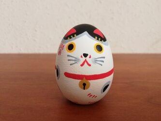 招き猫たまご ミニ 5の画像
