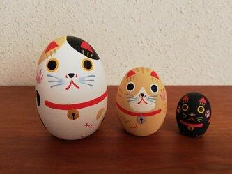 招き猫リョシカ Bの画像