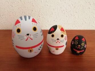 招き猫リョシカ Cの画像