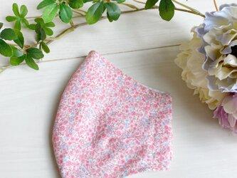 立体マスク 優しい小花の画像