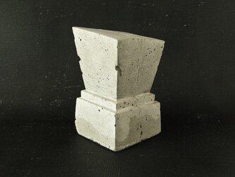 ブックエンド(trapezoid)No color コンクリートの画像