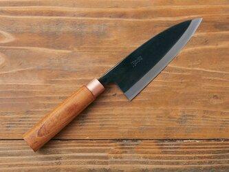 【再入荷】鍛冶職人の出刃包丁(左利き用・刃渡り16.5cm)の画像