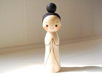 [conocokeshi]仏像こけし*祈り*[168]の画像