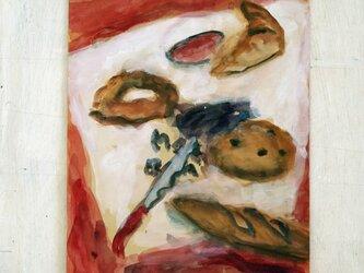 クロワッサンにバゲット、なんとかパンの画像