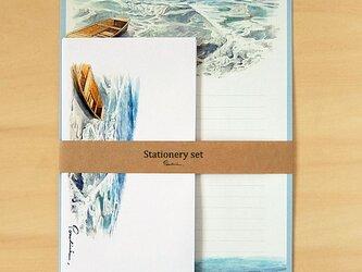 レターセット(A4) 海の画像