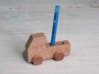 トラックペン立て オークの画像