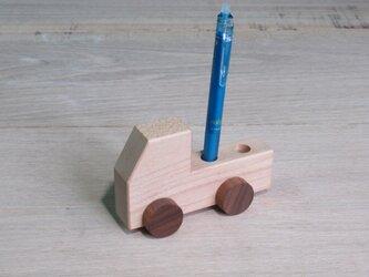 トラックペン立て メープルの画像