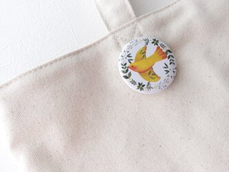 缶バッジ(小鳥)の画像