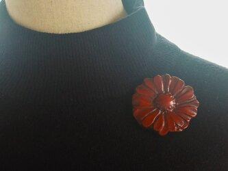 落雁ブローチ 菊の画像