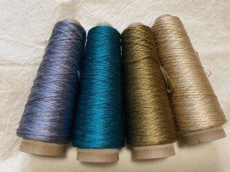 silk socks カラーの画像