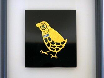 うるしアートFM 鳥 の画像