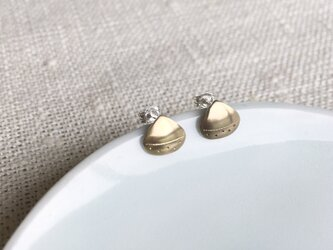 Chestnut (栗ピアス・真鍮製)の画像