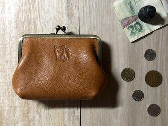 がま口財布/マチ付  [チワワ/ロングコート]の画像