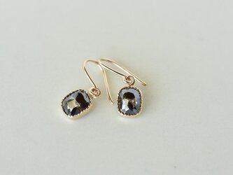 Ombre Diamond Earrings Night Skyの画像