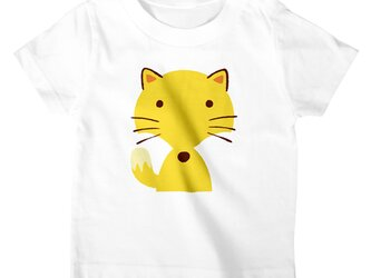 きつね Tシャツ/カットソー キッズ フリーサイズ アパレル/アニマルモチーフの画像