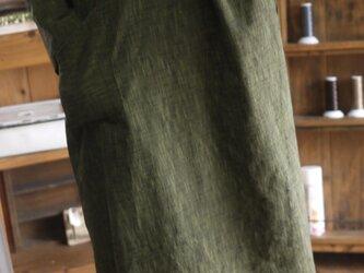 久留米絣セーラーカラーワンピースの画像