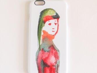 iPhoneケース『She is』の画像