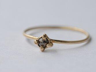 k10 ブラウンダイヤモンドリングの画像