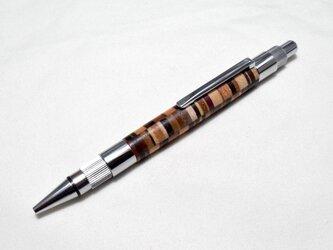 【寄木】手作り木製シャープペンシル 2.0mm芯の画像