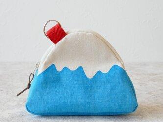 富士山ポーチ(キーリング付き)の画像