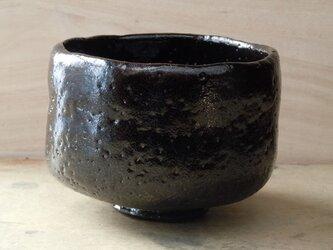 黒楽焼茶碗の画像