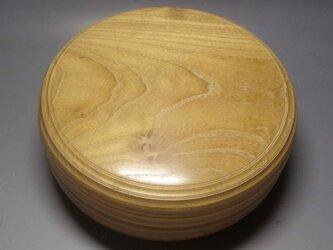 本桑食籠 木地磨き仕上げの画像