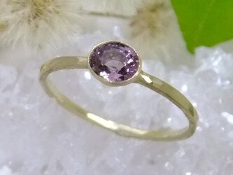 pink spinel*K10 ringの画像