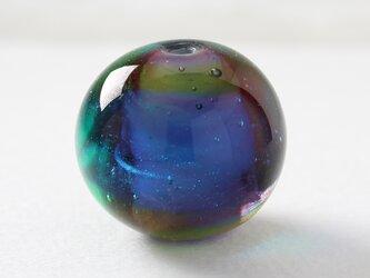 ガラスアクセサリー【彩河】縞の小石 LL135の画像