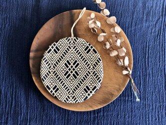こぎん刺し  ⌘鍋敷き⌘の画像