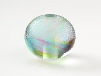 ガラスアクセサリー【彩】縞の小石 M127の画像