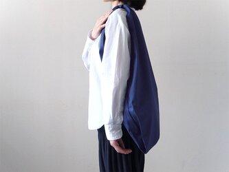 Bicolor Cloth Bag (ブルー):カレン クオイルの画像