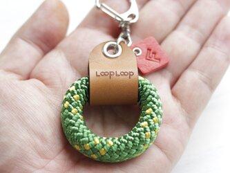 LOOP クライミングロープ フィンガーリング(グリーン)の画像