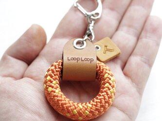 LOOP クライミングロープ フィンガーリング(オレンジ)の画像