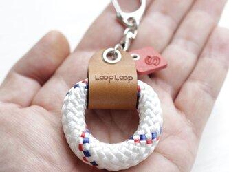 LOOP クライミングロープ フィンガーリング(ホワイト)の画像