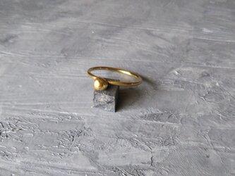 真鍮小粒リング プレーンの画像