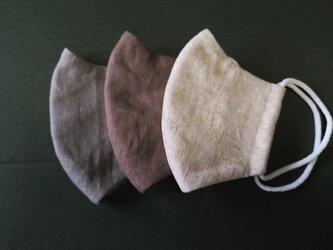 秋色布マスク3枚セットBの画像