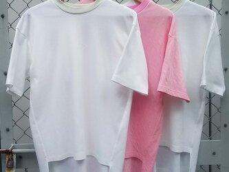 ㊺-1 le t-shirt cl20[ホワイト]の画像