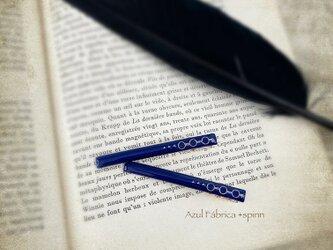 ヘアクリップ Beak (blue)の画像