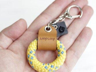 LOOP クライミングロープ フィンガーリング(イエロー)の画像