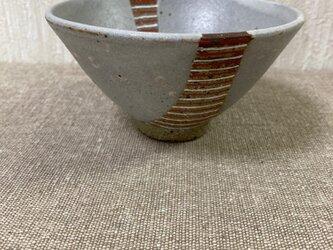 彩泥色絵茶碗の画像