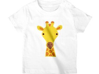 キリン Tシャツ/カットソー キッズ フリーサイズ アパレル/アニマルモチーフの画像