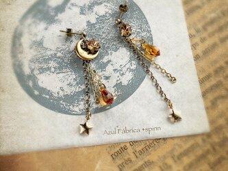 耳飾り:moon drop(gold)の画像