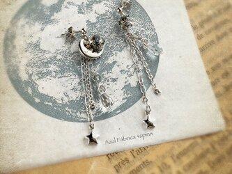 耳飾り:moon drop(silver)の画像