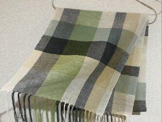手織りストール A48の画像