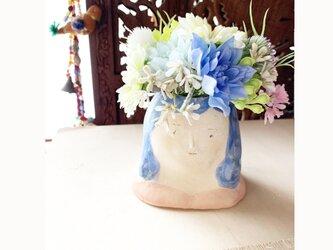 【オーダー】 花瓶フラワーポット胸像の画像